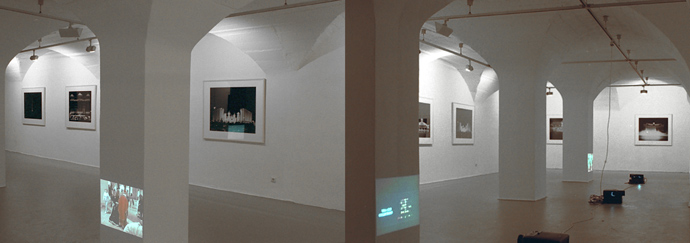 """bliss on earth"", 1999, installation view Kunstverein Karlsruhe"