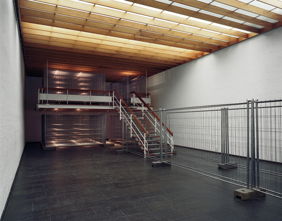 Installation view at Kunsthalle Bremerhaven, 2010, main exhibition space