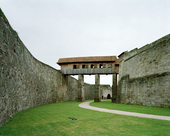 &quot;LEVEL III: THE RING, THE RAMPART BRIDGE&quot;, 2005, <br />Inkjet-print, 100 x 120 cm
