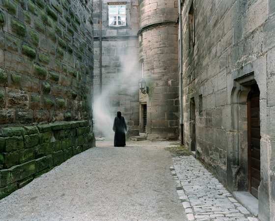 &quot;LEVEL IV: THE CASTLE, KEEP YARD, NORTH WING III&quot;, 2005, <br />Inkjet-print, 100 x 120 cm