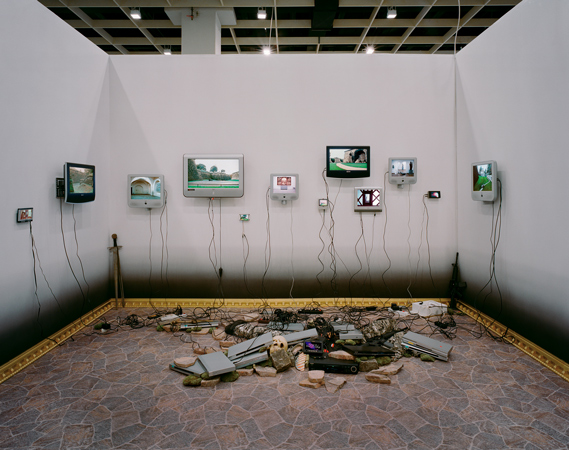 Installation view at art cologne, 2006